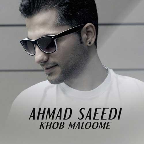 دانلود آهنگ جدید احمد سعیدی به نام خوب معلومه