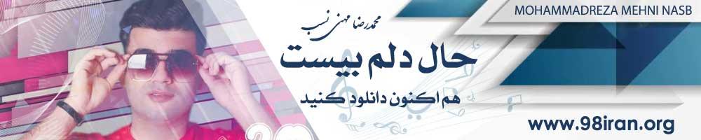 آهنگ محمدرضا مهنی نسب به نام حال دلم بیست
