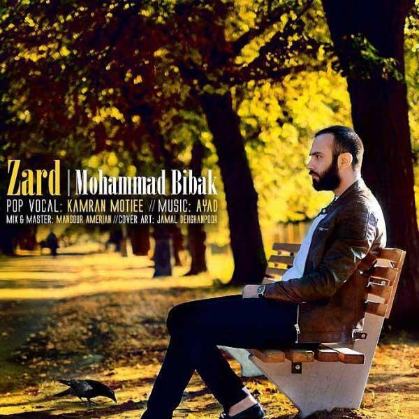 آهنگ محمد بی باک به نام زرد