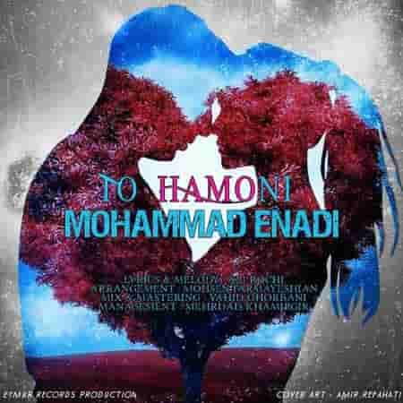 آهنگ محمد عنادی به نام تو همونی